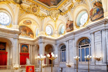 SCB Spain Convention Bureau. Madrid. Palacio Real