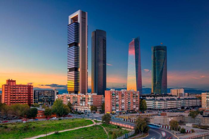 SCB Spain Convention Bureau. Madrid.Cuatro Torres Business Area