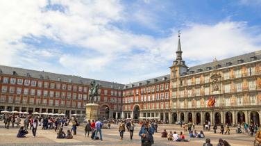 SCB Spain Convention Bureau. Madrid. Plaza Mayor