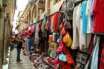GRANADA. Alcaicería. Antiguo mercado de la seda.