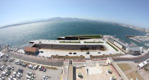 SCB Spain Convention Bureau. Santander. Vista aérea Dique de Gamazo y Duna de Zaera - Santander