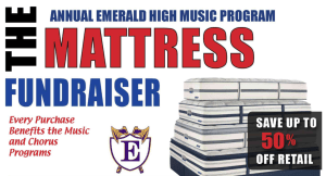 Emerald High School to hold Mattress Fundraiser September 8th