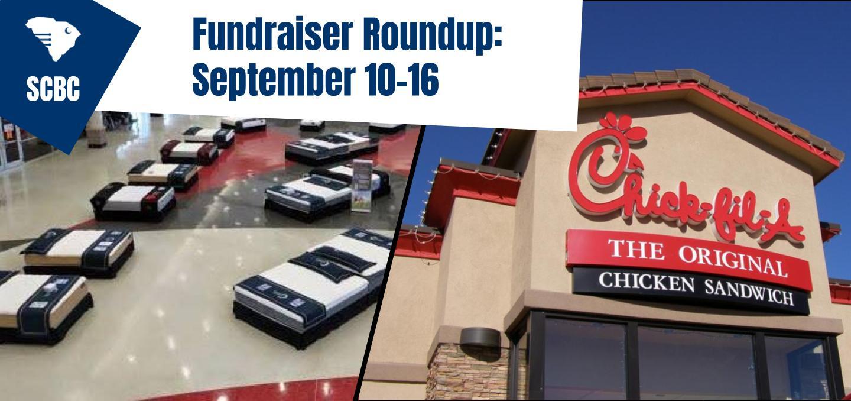 Fundraiser Roundup: September 10-16