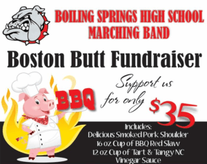 Boiling Springs holding Boston Butt Fundraiser through January 17