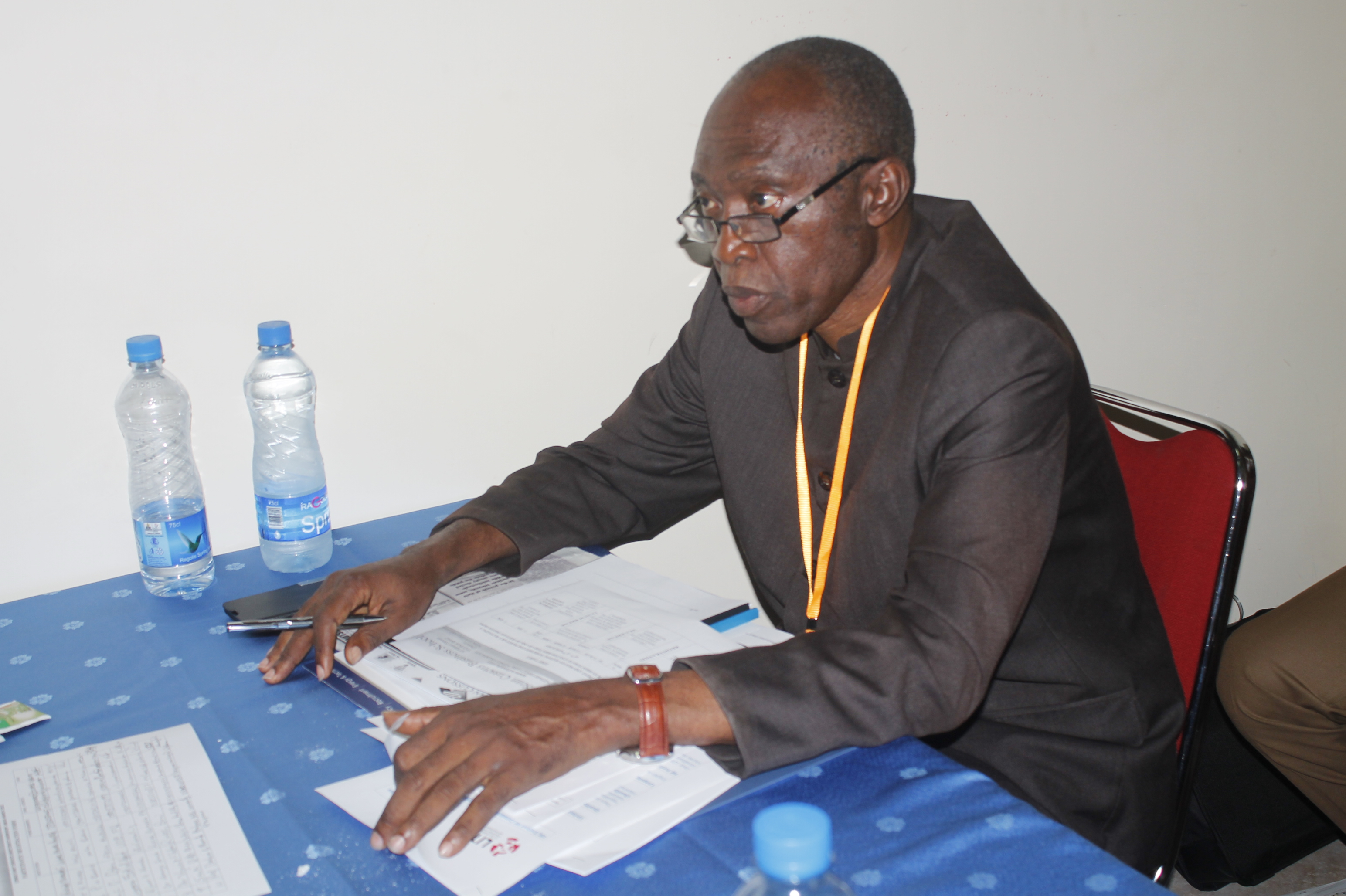 Prof. P.U. Okorie, Director of Consultancy Services of Imo State University