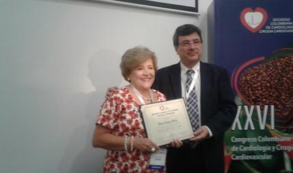 Reconocimiento a la enfermera Gloria Eugenia Lucena reina