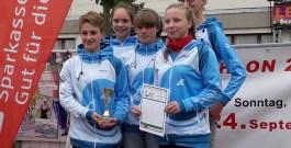 Damen-Team gewinnt Triathlon-Landesliga