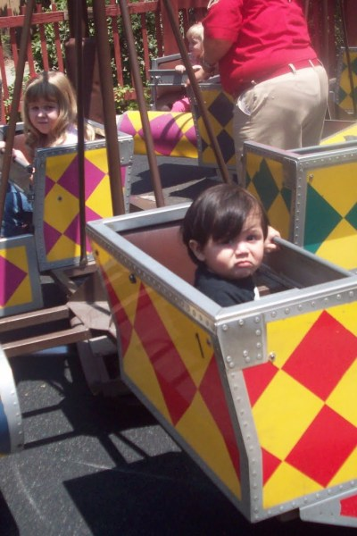Jude's Trip to Knotts Berry Farm
