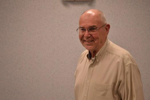 Bob Speck smiling