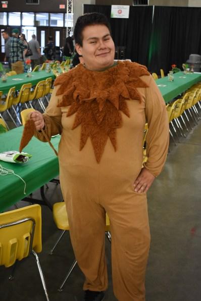 Lion suit