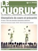 Quorum printemps 2013