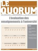 Quorum hiver 2014