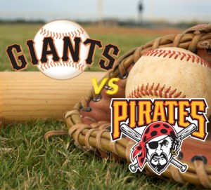 SF Giants VS Pitssburgh Pirates Baseball Game