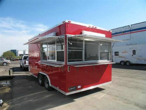 Aluminum Trailer Company Custom Concession Mobile Kitchen