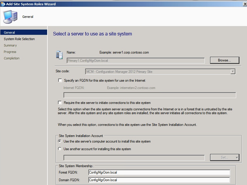 Software request in SCCM - Submit Software Request (2/6)