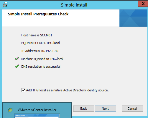 Vmware VCenter 5.5 Installation Step by Step (3/6)