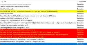 Configure DedupeForMe sccm
