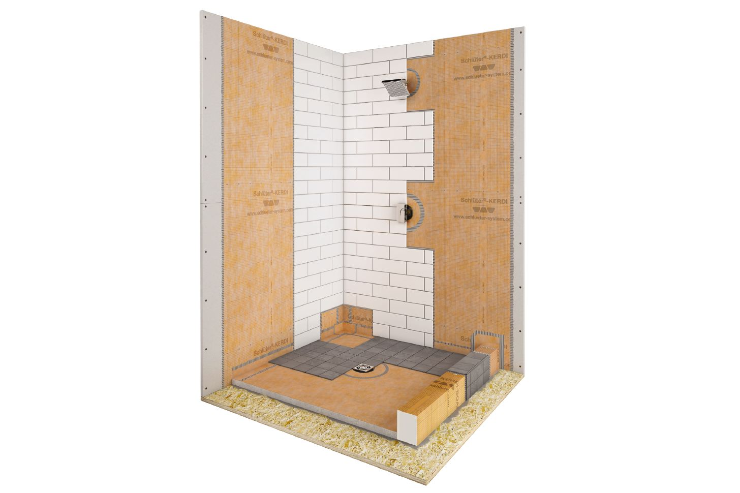 tiled shower waterproofing systems