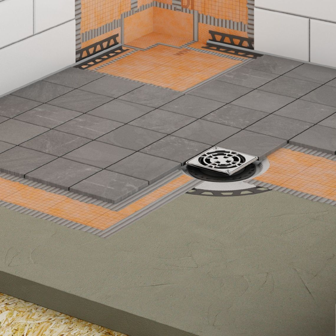 Image Result For How To Install A Shower Pan With Tile Walls