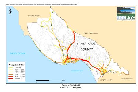 map santa cruz county » Free Wallpaper for MAPS | Full Maps