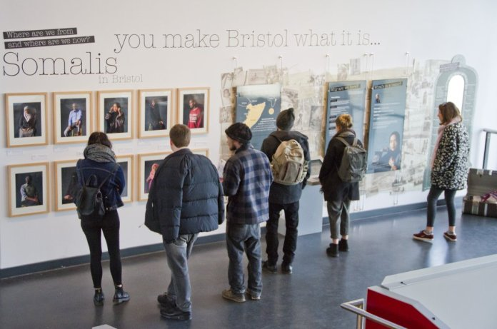 Exhibition in Bristol | Credit: Eve Andreski, M Shed Bristol City Museums