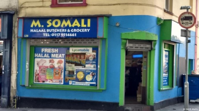 Somali shop in Bristol | Credit: Emma Wallis