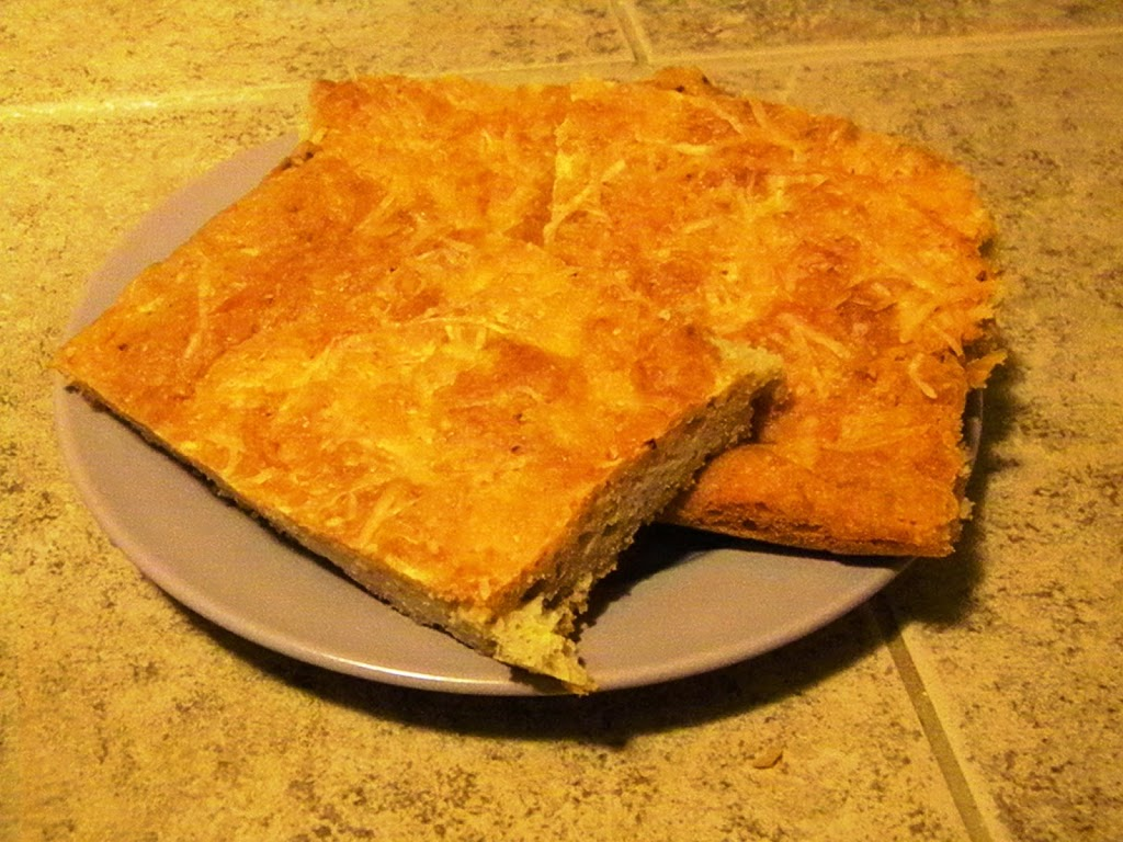 SCD Recipe: Cheese Focaccia
