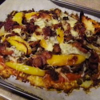 SCD Recipe: Cheeseburger Pizza Bake with Cauliflower Crust