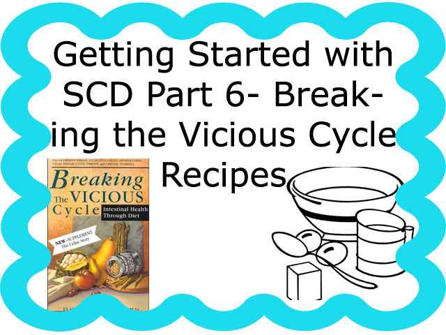 Getting Started With SCD Part 6: Breaking the Vicious Cycle Recipes