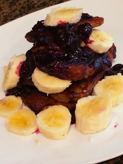 SCD Recipe: Vanilla Blueberry Pancakes