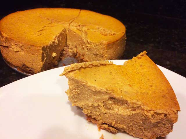 SCD Recipe: Pumpkin Cheesecake
