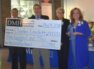 2018 Hassenplug Award Recipient, Charles Crockett, Coastal Empire Mental Health Center