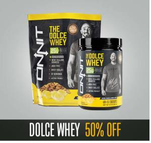 Dolce Whey 50% Off