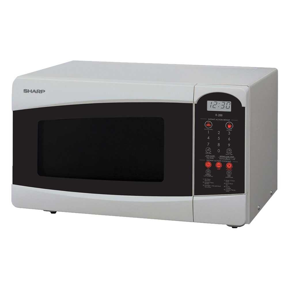 sharp microwave oven r 25c1 s