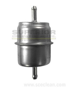"""Fuel Filter, 1/4"""" In/Out, Metal"""