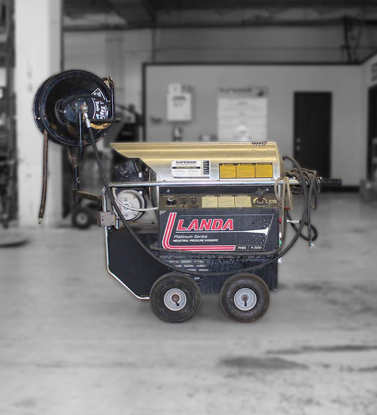 used landa phws4 pressure washer for sale