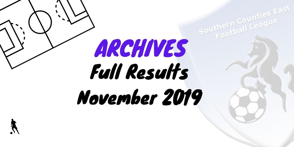 scefl season November 2019
