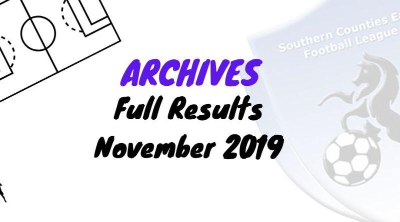 scefl season November 2019