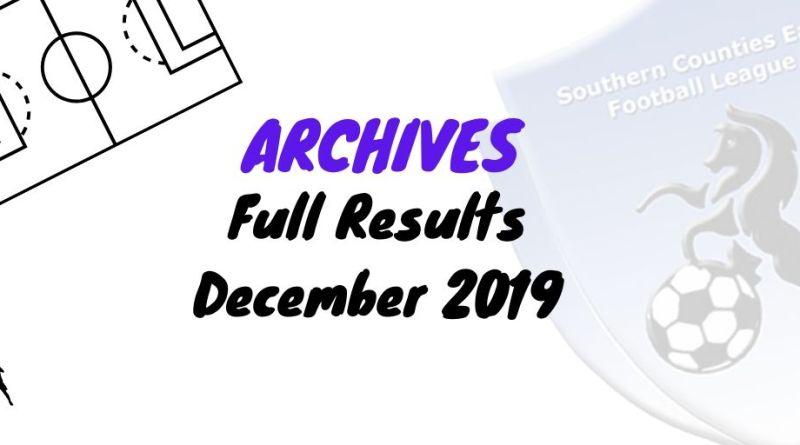 scefl season December 2019