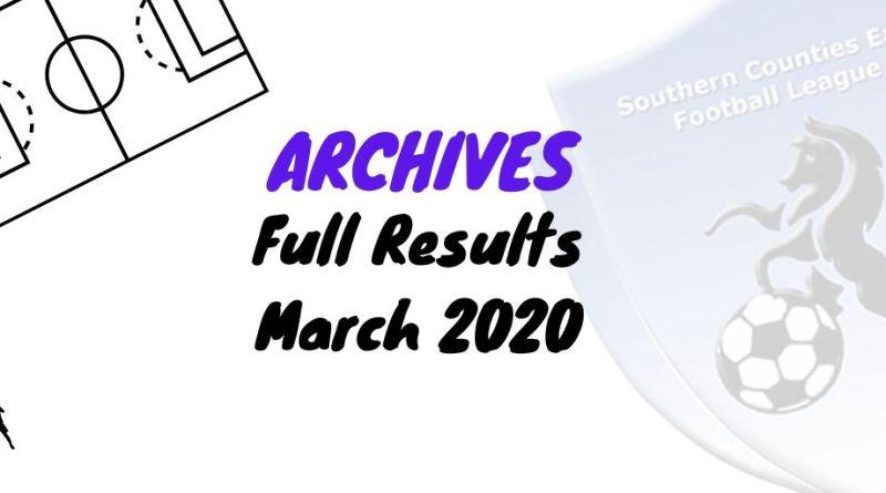 scefl season march 2020