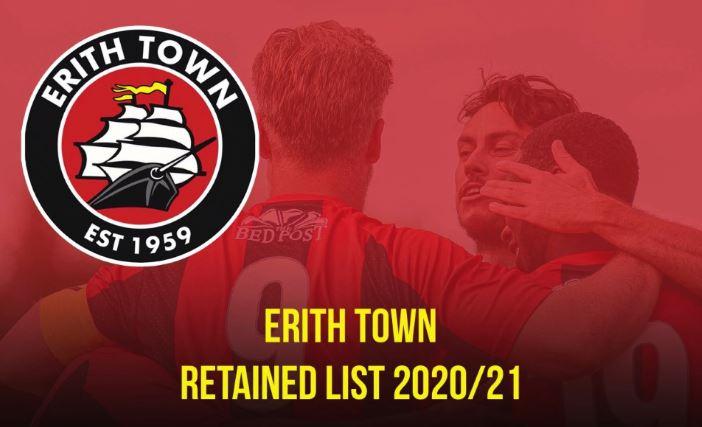 erith town retained list 2020