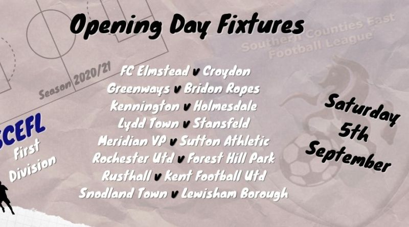 SCEFL First Division Opening Day
