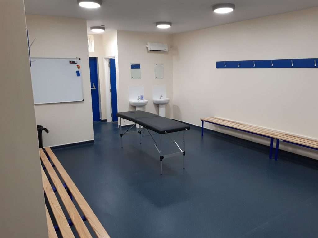 Snodlan Town changing room
