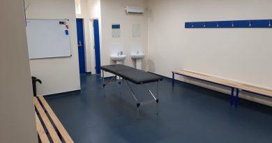 Snodlan Town changing room