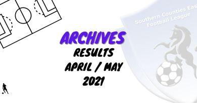 scefl results April May 21