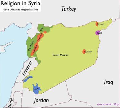 Syria-Religion-Map