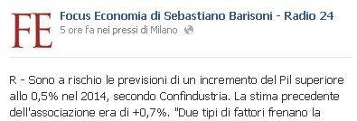 CONTRAZIONE PIL ITALIA