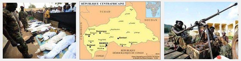 REPUBBLICA CENTRO AFRICANA CARTINA