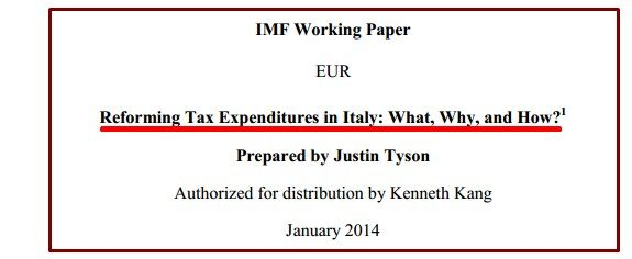 IMF REFORMING TAX
