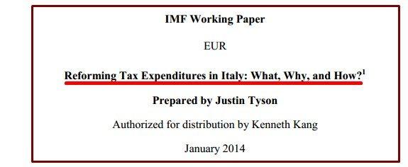IMF REFORMING TAX